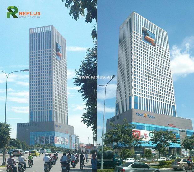 Tòa nhà cho thuê văn phòng trọn gói Bình Thạnh Pearl Plaza