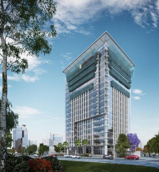 Tòa nhà Lottery tower cho thuê văn phòng trọn gói tphcm giá rẻ