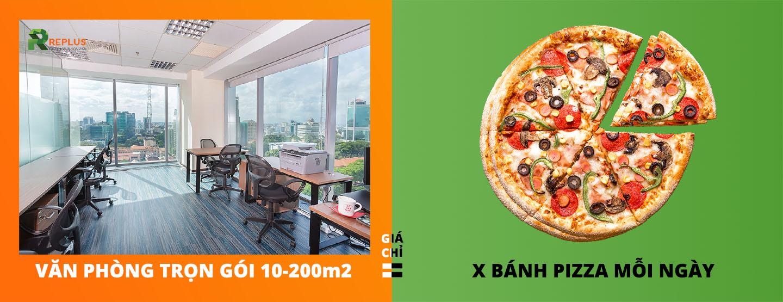 văn phòng trọn gói giá chỉ bằng miếng bánh pizza