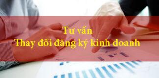 mẫu thay đổi đăng ký kinh doanh mới nhất