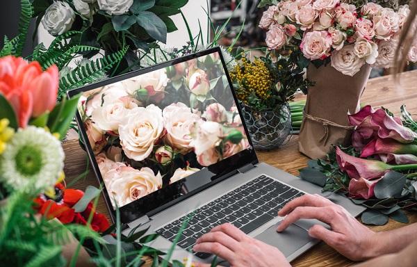 Kinh doanh hoa tươi online trong năm 2021