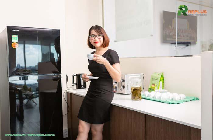 Khách hàng dịch vụ coworking space Tân Phú